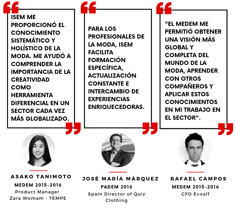 Testimonio Antiguo alumni ISEM- opinion